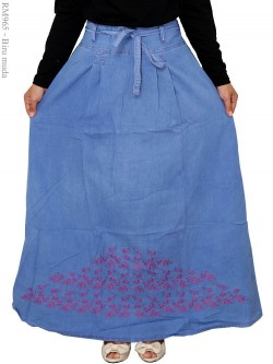 RM965 Rok Jeans Umbrella Bordir