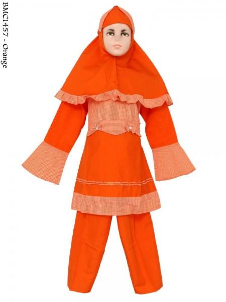 BMC1457 Baju(7-9) Setelan Muslim Anak