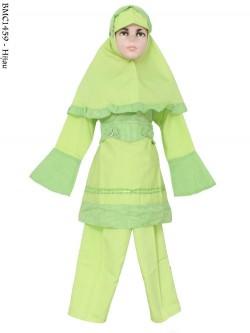 BMC1459 Baju(11-12) Setelan Muslim Anak