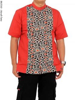 BK530 Baju Koko Albatar Lengan Pendek Batik
