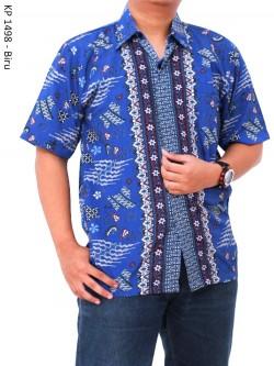 KP1498 Hem Batik Semi Sutra
