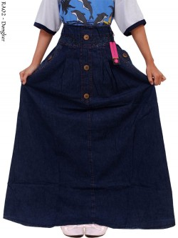RA02 Rok Jeans Anak Tanggung