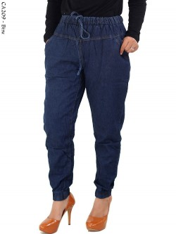 CA209 Celana Jogger Jeans Polos