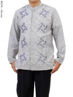 BK541 Baju Koko Lengan Panjang Albatar CRV Bordir