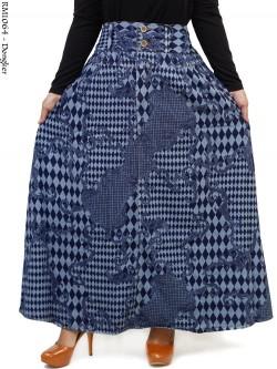RM1064 Rok Jeans Umbrella Motif