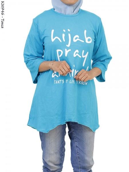 KM946 Kaos ABG Spandex Islamic