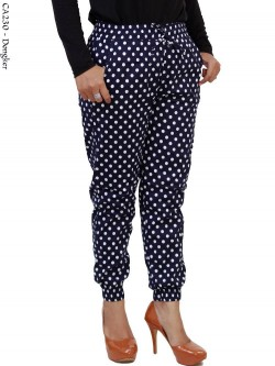 CA230 Celana Jogger Pants Polkadot