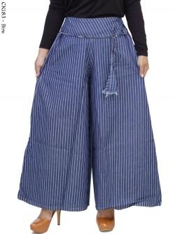 CK183 Celana Kulot Jeans Salur