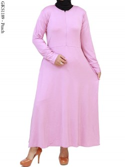 GKS1189 Gamis Jersey Polos