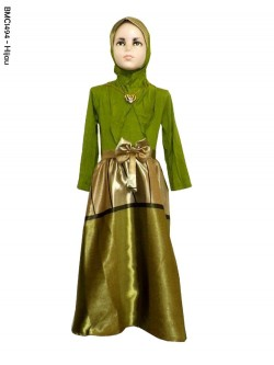 BMC1494 Gamis Anak Pesta Umbrella