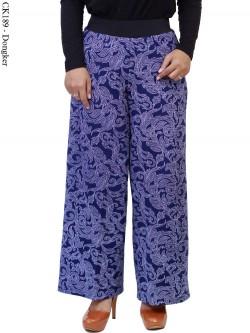 CK189 Celana Kulot SCUBA Batik