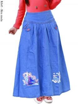 PO PMS1 Fashion Muslim Rok Panjang Anak Anak
