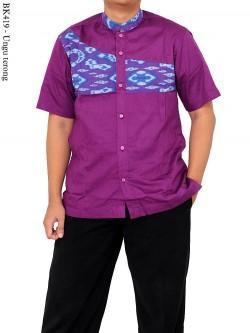BK419 Baju Koko Batik Albatar