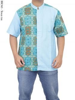 BK563 Baju Koko Batik Albatar Katun CRV