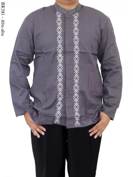 BK581 Baju Koko Albatar Lengan Panjang Bordir
