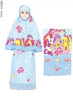 MKA58 Mukena Sajadah Anak Little Pony