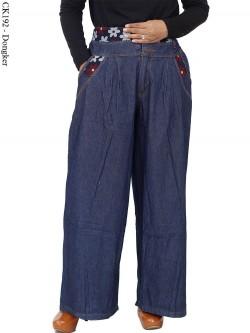 CK192 Celana Kulot Jumbo Jeans