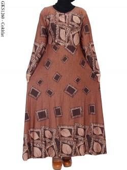 GKS1260 Gamis Spandek Jersey Batik