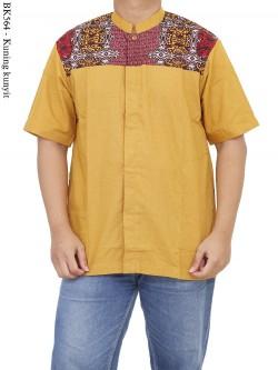 BK564 Baju Koko Batik Albatar Katun CRV