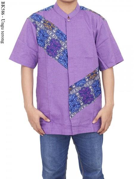 BK586 Baju Koko Batik Albatar Katun CRV