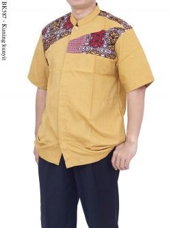BK587 Baju Koko Batik Albatar Katun CRV