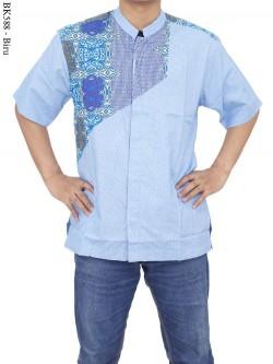 BK588 Baju Koko Batik Albatar Katun CRV