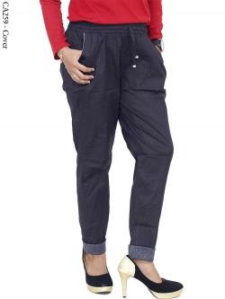 CA259 Celana Harem Stik Balik