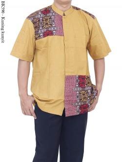 BK590 Baju Koko Batik Albatar Katun CRV