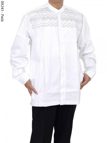 BKJ34 Baju Albatar Koko Lengan Panjang Jumbo Bordir