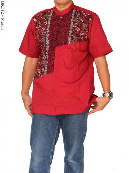BK512 Baju Koko Albatar Batik