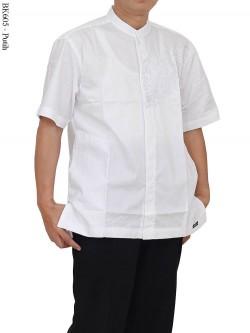 BK605 Koko Albatar Bordir Lengan Pendek