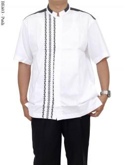 BK603 Baju Koko Albatar Bordir