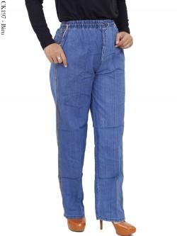 CK197 Celana Kulot Jeans Polos