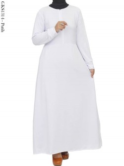 GKS1314 Gamis Jersey Polos