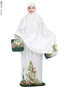 MK565 Mukena Bali Motif Batik