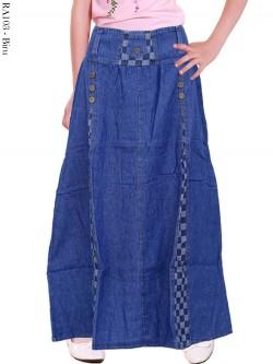 RA103 Rok Jeans Anak List Kotak