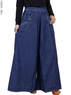 CK204 Celana kulot Jeans Jumbo