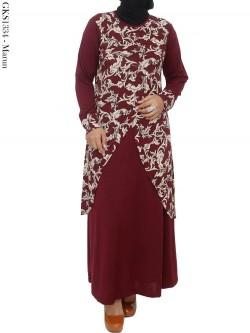 GKS1334 Gamis Jersey Batik