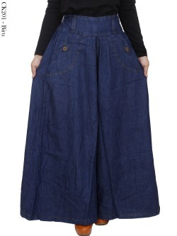 CK201 Celana Kulot Jeans Jumbo