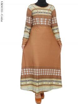 GKS1335 Gamis Jersey Batik