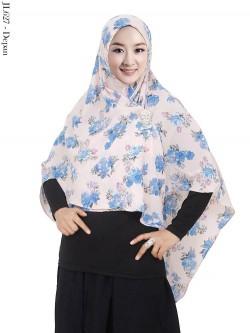 JL627 Jilbab Syiria Bubble Pop Motif