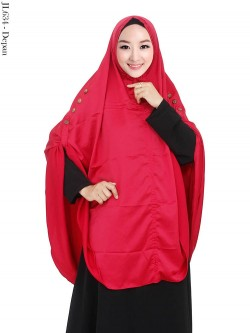 JL634 Jilbab Syar'i JUmbo Baby Silk