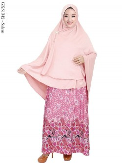 GKS1342 Gamis Syar'i Jersey Misby