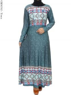 GKS1345 Gamis Jersey Batik