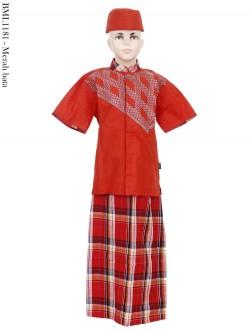 BML1181 (4-6) Baju Koko Anak Celana Sarung