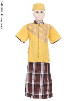 BML1182 (7-12) Baju Koko Anak Celana Sarung