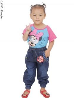 CA385 Celana Jogger Jeans Anak