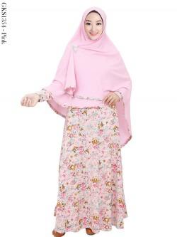 GKS1354 Gamis Syar'i Jersey Hijab Crepe