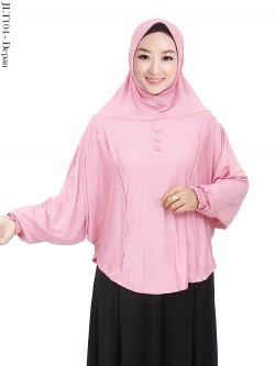 JLT104 Jilbab Tangan Jumbo Jersey Polos