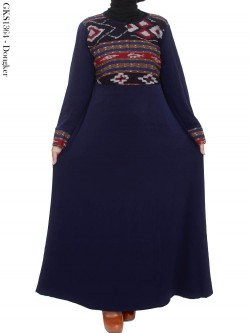 GKS1364 Gamis Jersey Songket